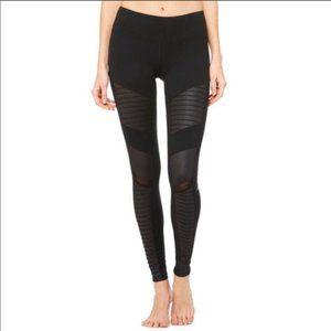 Alo Yoga Black Moto Leggings